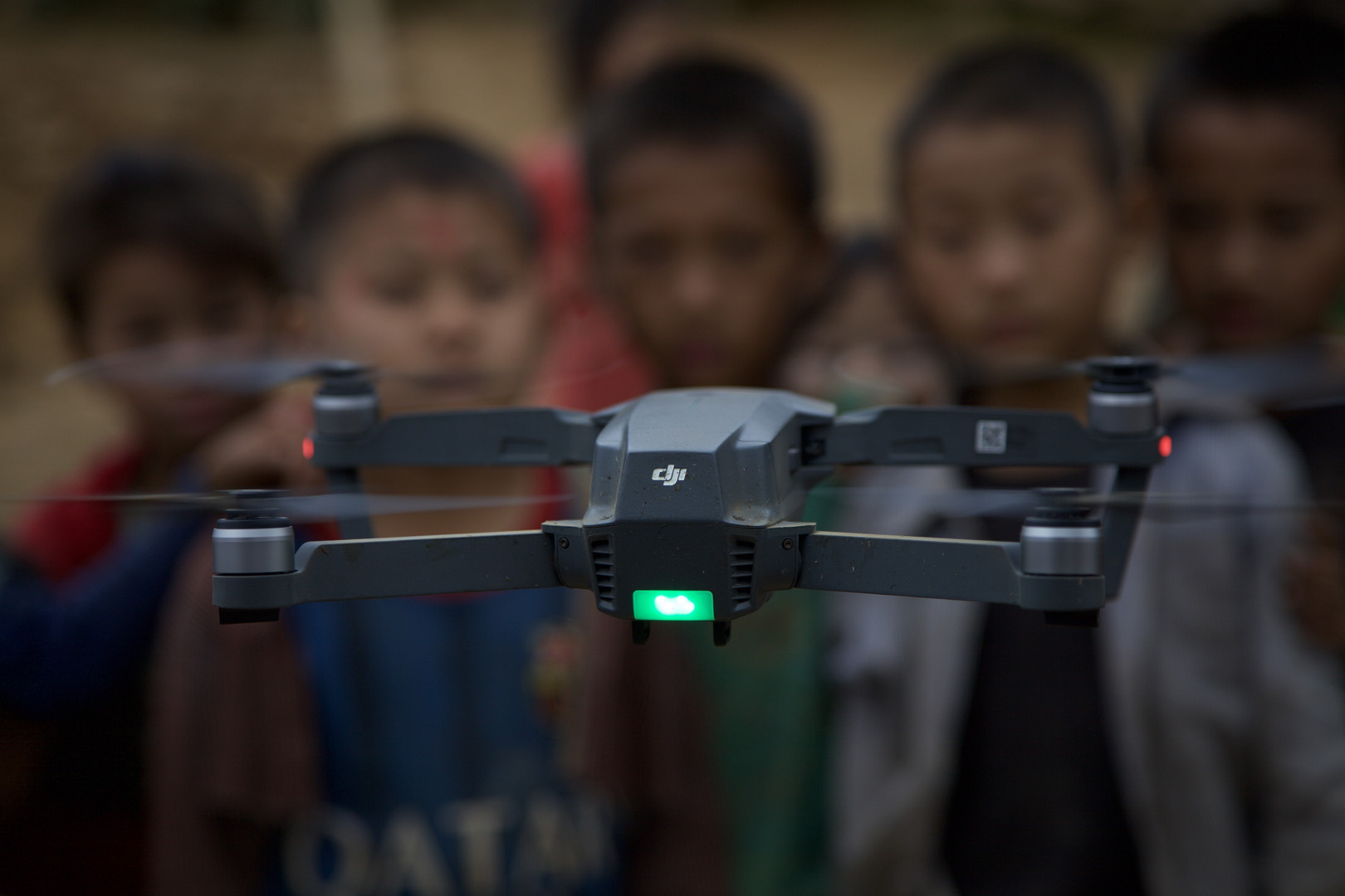 Hmong boys and their first drone