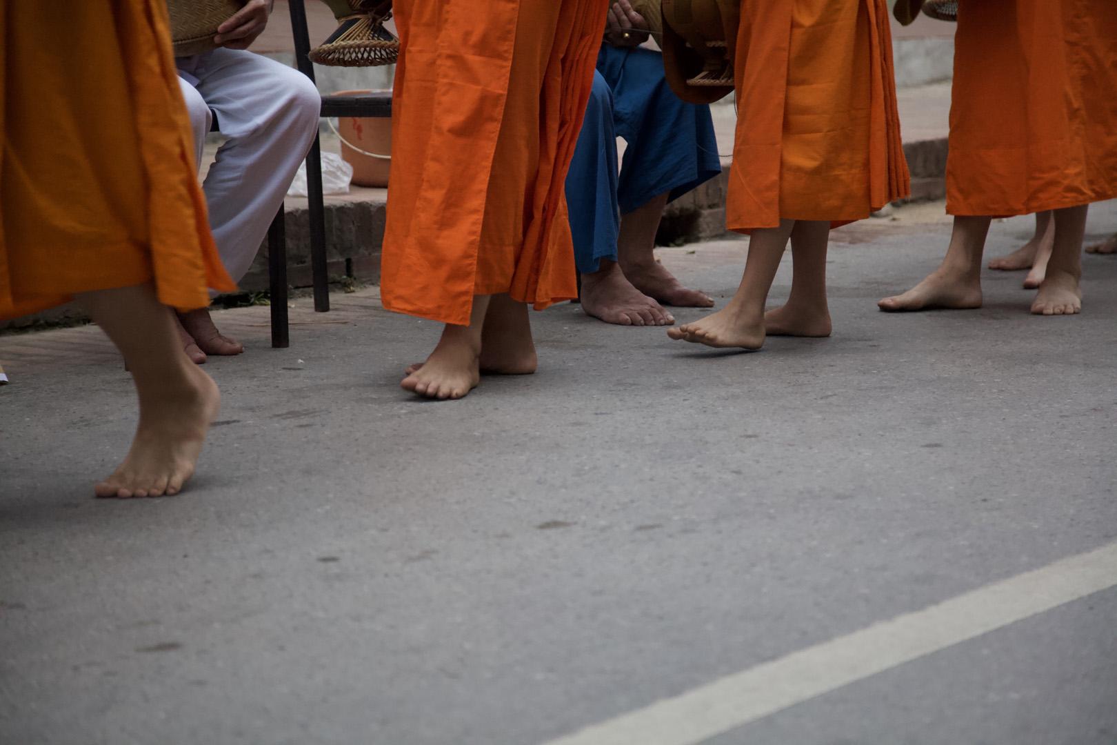 Luang Prabam at dawn